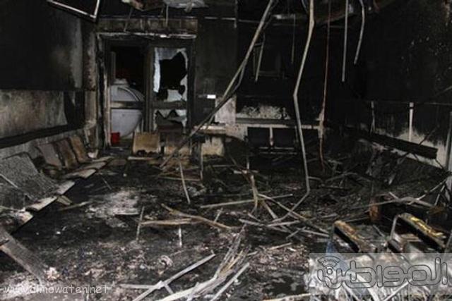 بالصور.. من موقع #حريق_مستشفى_جازان_العام  كارثة (17)