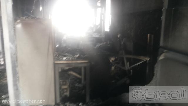 بالصور.. من موقع #حريق_مستشفى_جازان_العام كارثة (3)