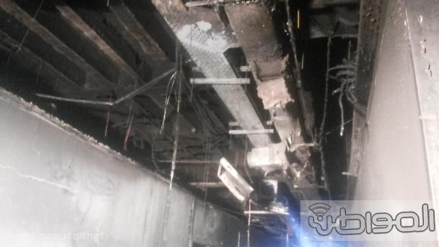 بالصور.. من موقع #حريق_مستشفى_جازان_العام كارثة (4)