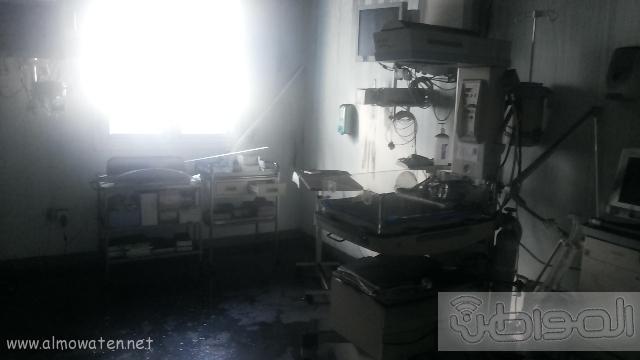 بالصور.. من موقع #حريق_مستشفى_جازان_العام كارثة (6)
