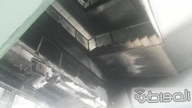 بالصور.. من موقع #حريق_مستشفى_جازان_العام كارثة (7)