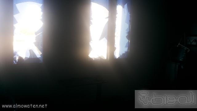 بالصور.. من موقع #حريق_مستشفى_جازان_العام كارثة (8)