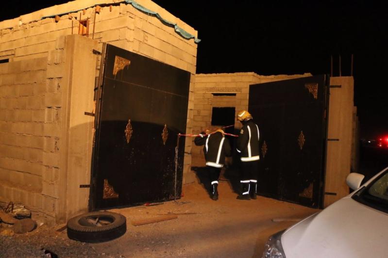 بالصور.. وفاة أب وإصابة اثنين من أطفاله بحروق بسبب مولد كهربائي بمكة (2)