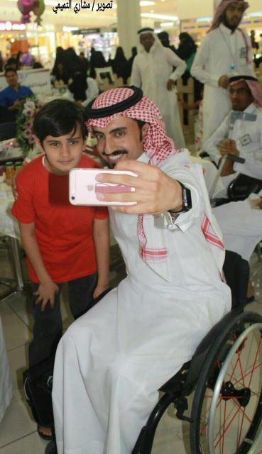 بالصور.. 5 أهداف لأصدقاء ذوي الإعاقة في عنيزة.. والمحافظ عمل جبار (8)