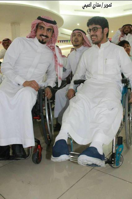 بالصور.. 5 أهداف لأصدقاء ذوي الإعاقة في عنيزة.. والمحافظ عمل جبار (9)
