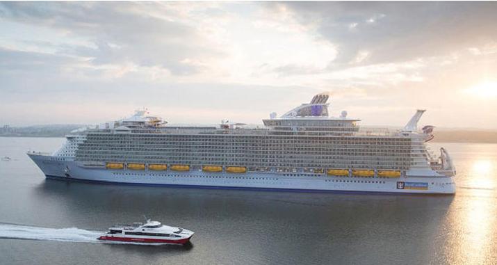 بالصور...عالم من الترفيه والاستجمام على متن أضخم سفينة في العالم