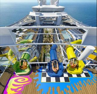 بالصور...عالم من الترفيه والاستجمام على متن أضخم سفينة في 23