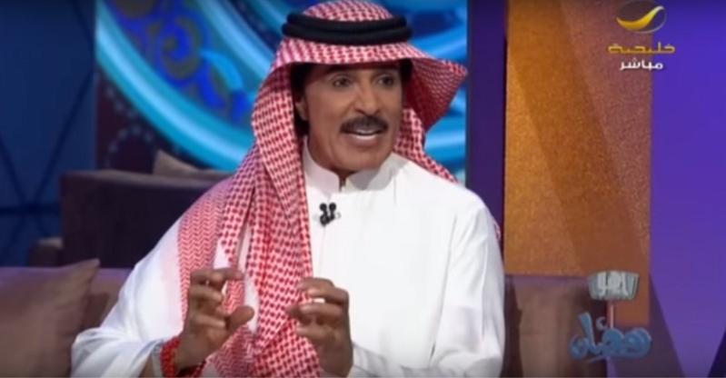 بالفيديو عبدالله بالخير صوتي لم يتأثر بتقدم سني  وهذا سبب غزلي لهيفاء وهبي