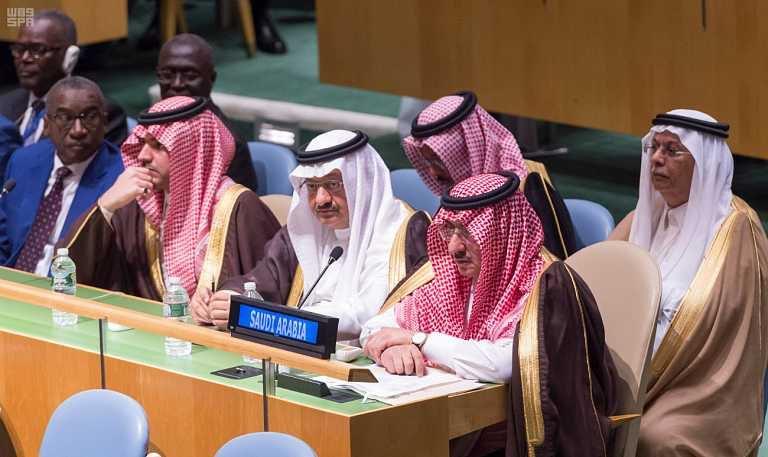 شاهد.. بمشاركة ولي العهد.. بدء أعمال الدورة 71 للجمعية العامة للأمم المتحدة