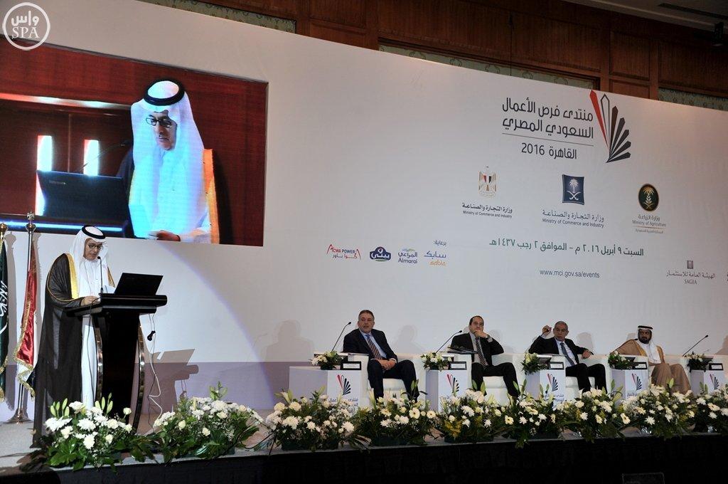 بدء أعمال منتدى فرص الأعمال السعودي المصري بالقاهرة (10)