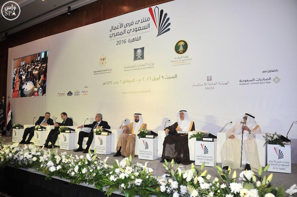 بدء أعمال منتدى فرص الأعمال السعودي المصري بالقاهرة (11)
