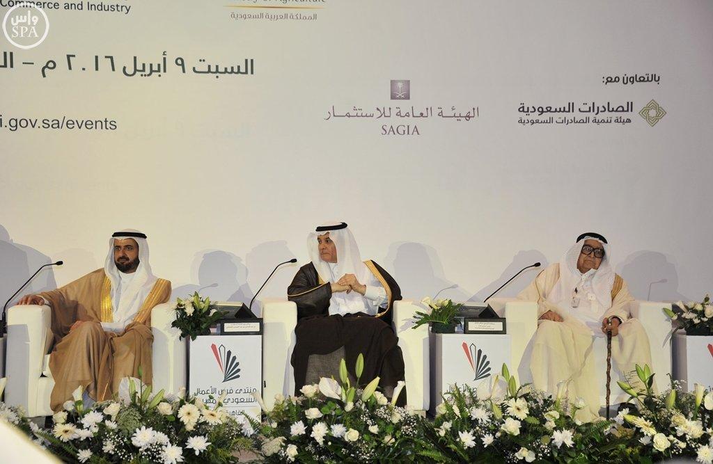 بدء أعمال منتدى فرص الأعمال السعودي المصري بالقاهرة (13)