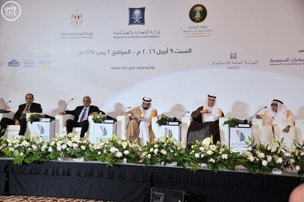 بدء أعمال منتدى فرص الأعمال السعودي المصري بالقاهرة (2)