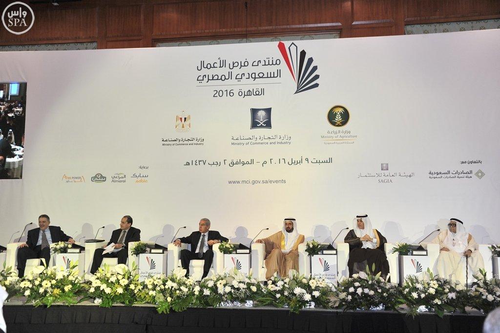 بدء أعمال منتدى فرص الأعمال السعودي المصري بالقاهرة (4)