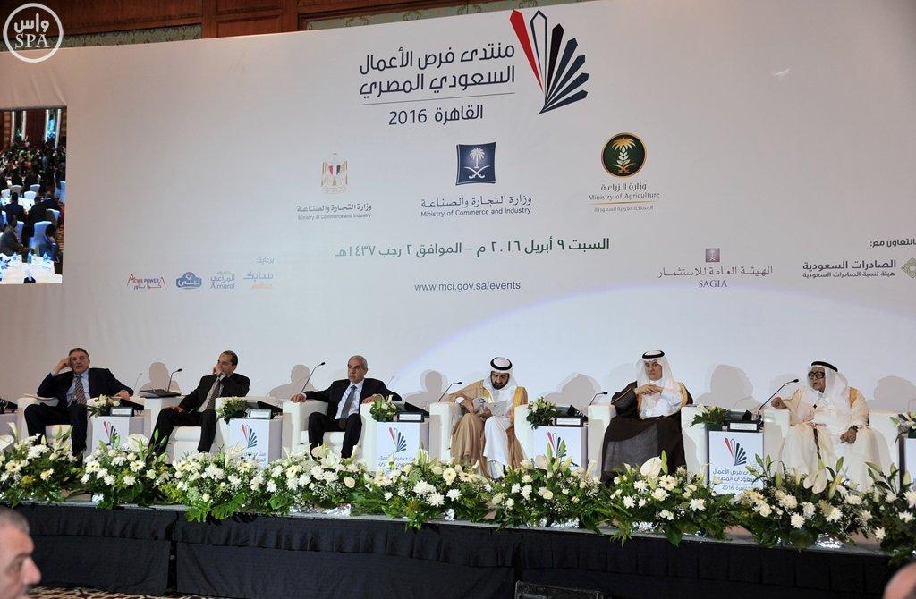 بدء أعمال منتدى فرص الأعمال السعودي المصري بالقاهرة (6)