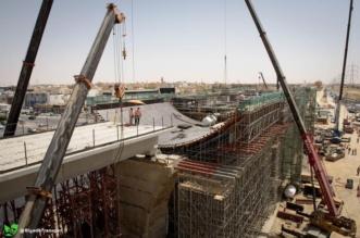 بالصور.. بدء ظهور مَعَالِم المحطات العُلْويّة لقطار الرياض - المواطن