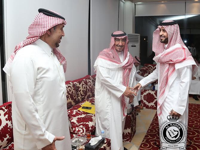 بدأ اجتماع أعضاء شرف النصر بحضور فيصل بن تركي (1)