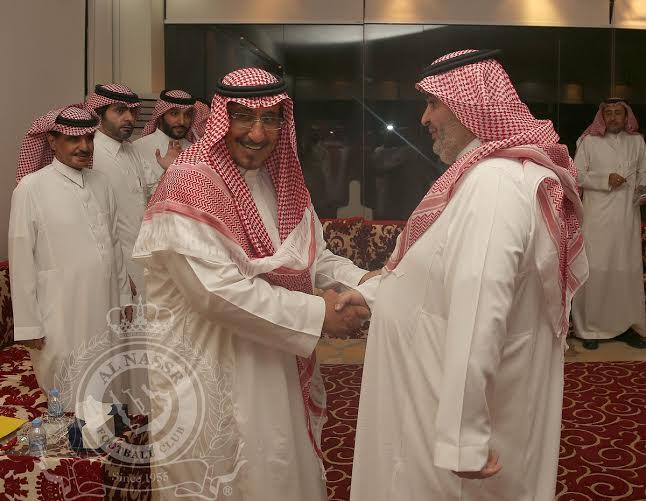 بدأ اجتماع أعضاء شرف النصر بحضور فيصل بن تركي (290065126) 