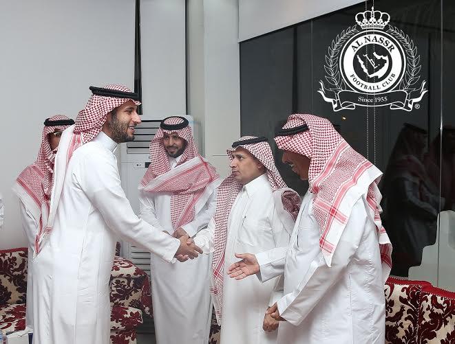 بدأ اجتماع أعضاء شرف النصر بحضور فيصل بن تركي (290065134) 