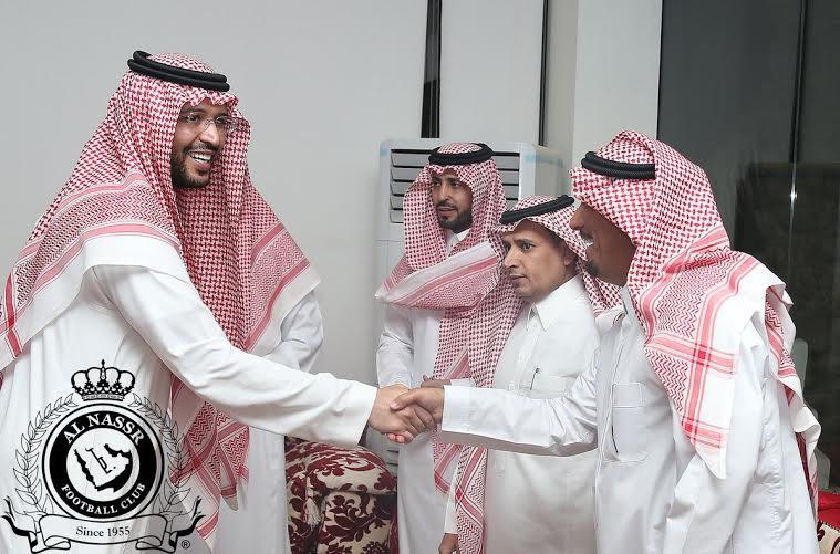 بدأ اجتماع أعضاء شرف النصر بحضور فيصل بن تركي (290065138) 