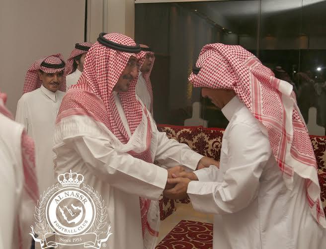 بدأ اجتماع أعضاء شرف النصر بحضور فيصل بن تركي (290065139) 