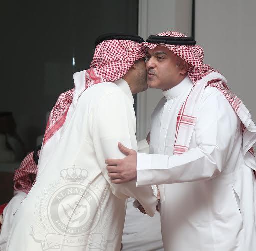 بدأ اجتماع أعضاء شرف النصر بحضور فيصل بن تركي (290065142) 