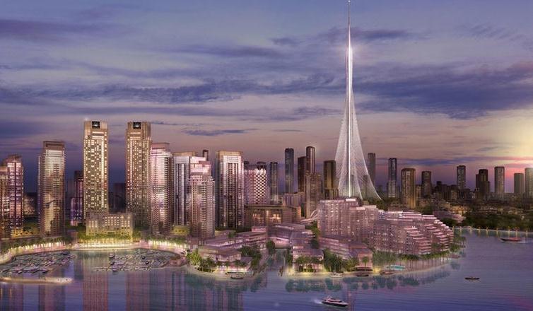 برج جديد في خور دبي