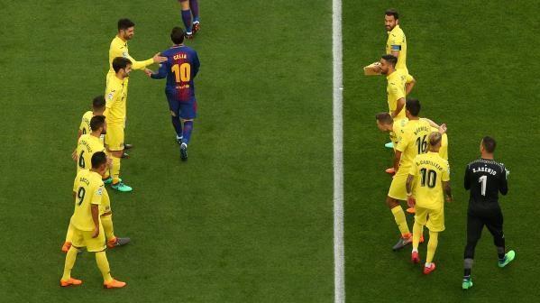 برشلونة ضد فياريال 1