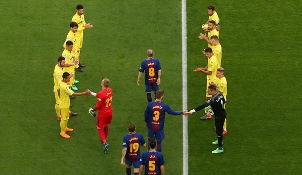 برشلونة ضد فياريال 2