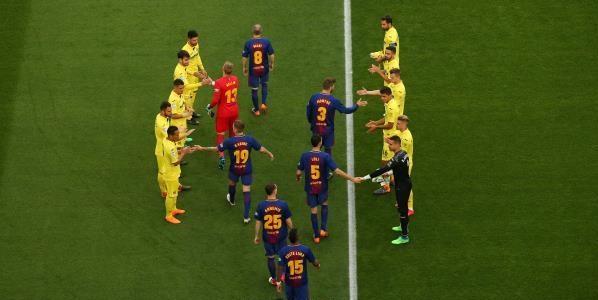 برشلونة ضد فياريال 3