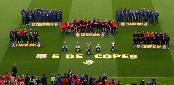 برشلونة ضد فياريال 4