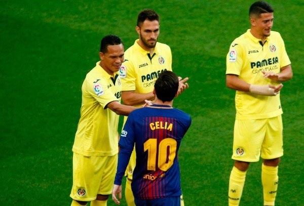برشلونة ضد فياريال 5