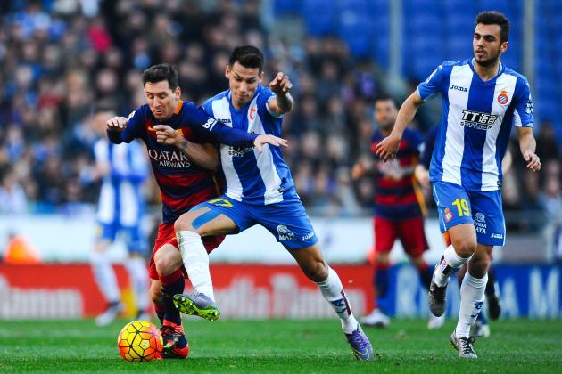 برشلونة مع إسبانيول
