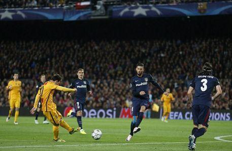 برشلونة واتلتيكو مدريد