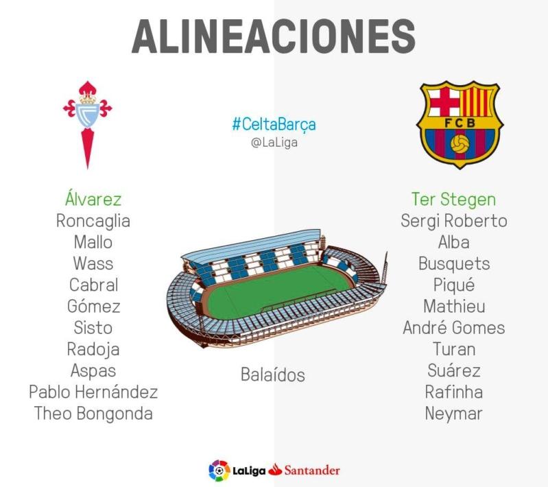 برشلونة وسلتا فيجو