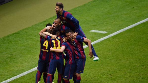 برشلونة يوفنتوس 13