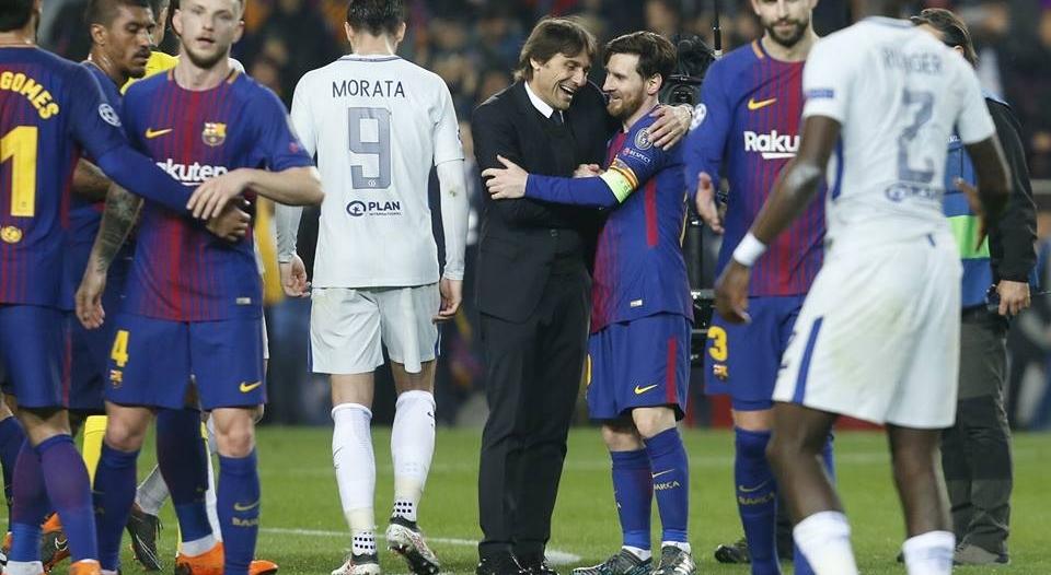 نادي برشلونة يُسيطر على تشكيلة الأسبوع في دوري الأبطال