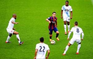 شاهد أهداف# برشلونة وديبورتيفو لاكورونيا