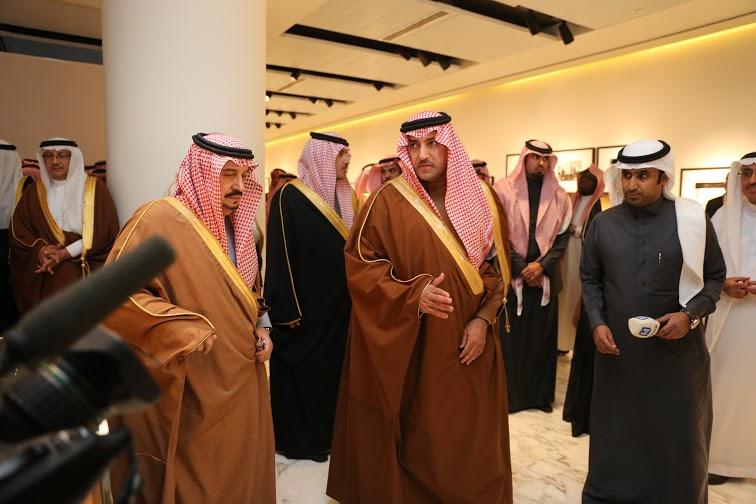 برعاية أمير الرياض وبحضور أبناء الملك عبدالله10