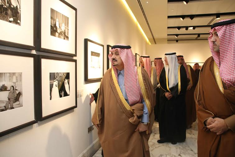برعاية أمير الرياض وبحضور أبناء الملك عبدالله15