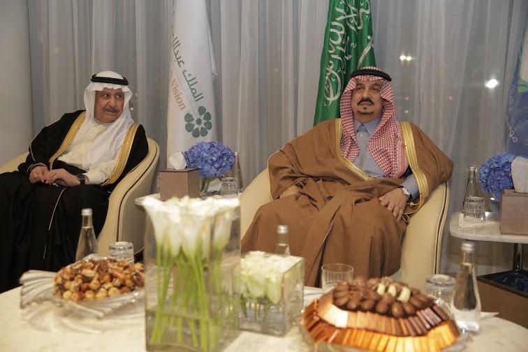برعاية أمير الرياض وبحضور أبناء الملك عبدالله3