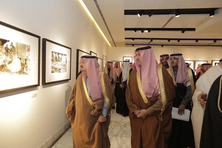 برعاية أمير الرياض وبحضور أبناء الملك عبدالله4