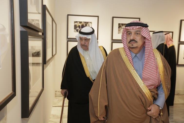 برعاية أمير الرياض وبحضور أبناء الملك عبدالله5