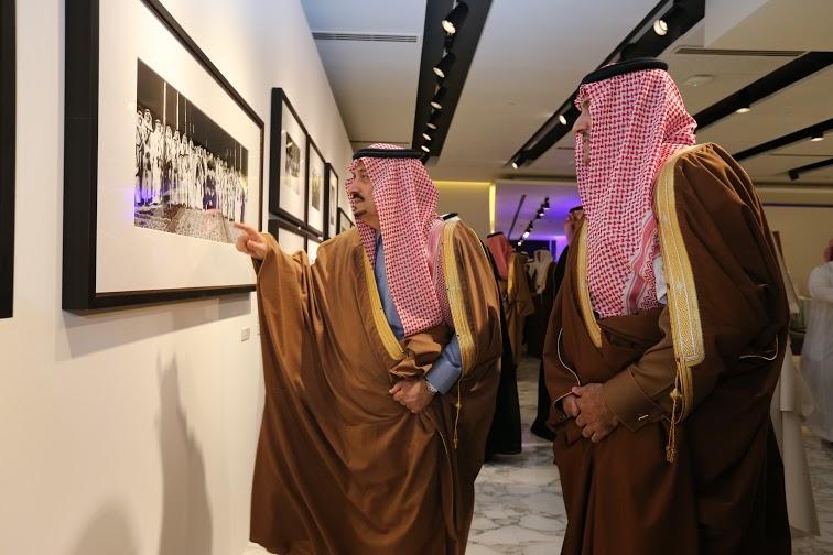 برعاية أمير الرياض وبحضور أبناء الملك عبدالله7