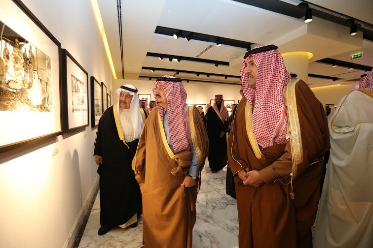 برعاية أمير الرياض وبحضور أبناء الملك عبدالله8