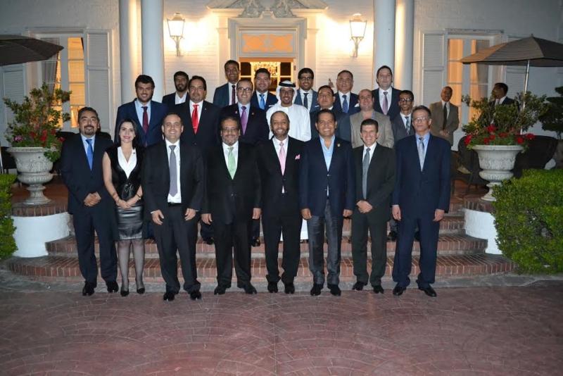 برلمانيون مكسيكيون يُهاجمون إيران في عشاء السفارة السعودية 1