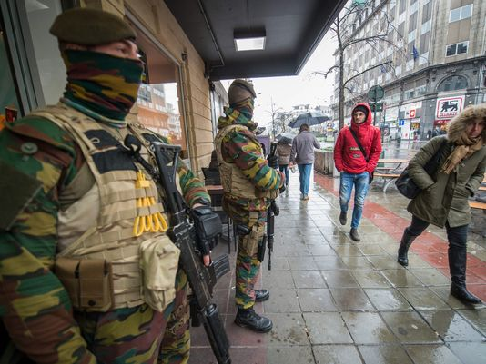 بروكسل تتحول إلى ثكنة عسكرية (1)