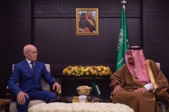 الملك سلمان يستقبل رئيس جمهورية بشكيريا - المواطن