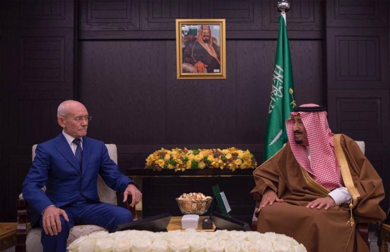 الملك سلمان يستقبل رئيس جمهورية بشكيريا