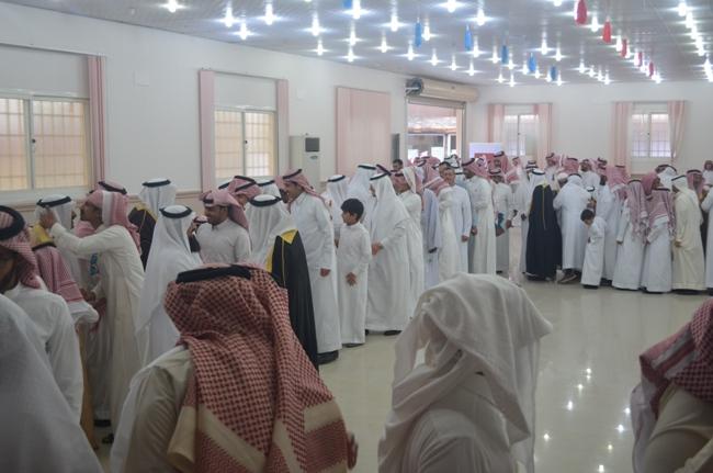 بطحاء الواديين تحتفل بالعيد بحضور ابنائها (1)